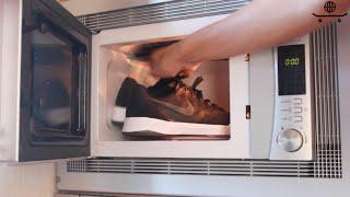 getlinkyoutube.com-¿Por qué meter las zapatillas en el microondas?