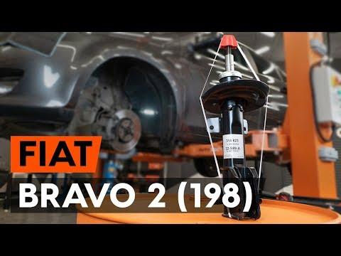 Как заменить переднюю стойку амортизатора наFIAT BRAVO 2 (198) (TUTORIAL AUTODOC)