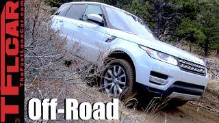 getlinkyoutube.com-2016 Range Rover Sport Diesel Colorado Rocky Mountain Off-Road Review