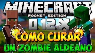 getlinkyoutube.com-Minecraft PE 0.14.0: COMO Curar Un Aldeano Zombie En Minecraft PE 0.14.0