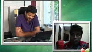 Vijay Anna Skype talk with his fan