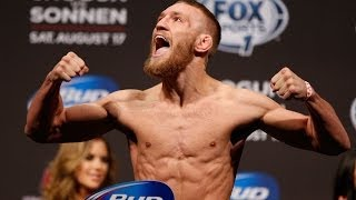 Pesajes de UFC Fight Night 46: McGregor vs. Brandao