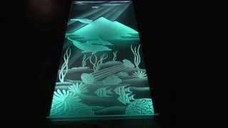 getlinkyoutube.com-Изготовление тонкой световой панели акрилайт