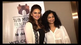 Huma Qureshi, Gauri Shinde at MAMI film festival