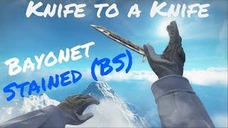 getlinkyoutube.com-Knife to a Knife: Bayonet Stained Battle Scarred Showcase! (BS)