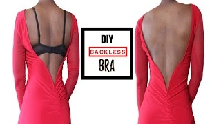 getlinkyoutube.com-How To Make A Backless Bra (For All Boob Sizes!)