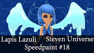 Msp Speedpaint #18 - Lapis Lazuli