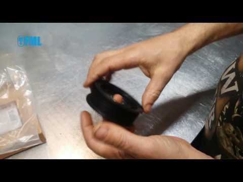 Поразитный ролик пластиковый для двигателя 2.7 Додж