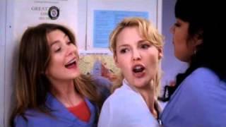 getlinkyoutube.com-Callie torres, Meredith Grey, Izzie Stevens - From a Whisper to A Scream Season 3 Greys Anatomy