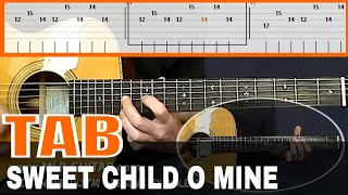 Sweet Child o' Mine - Guitar Tab
