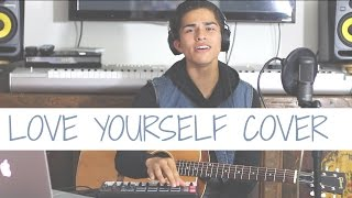 getlinkyoutube.com-Love Yourself by Justin Bieber | Cover by Alex Aiono