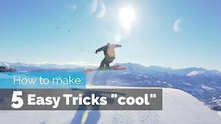 getlinkyoutube.com-HOW TO MAKE 5 EASY SKI TRICKS COOL