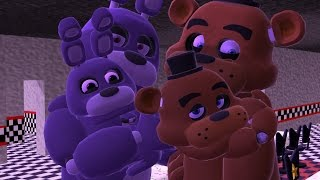 getlinkyoutube.com-【MMD x FNAF】 The children's of Bonnie and Freddy 【Fronnie】