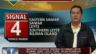 getlinkyoutube.com-Bagyong Yolanda, lumakas pa at bumilis habang tinutumbok ang Eastern Samar at Leyte