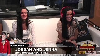 getlinkyoutube.com-Twin calendar girls talk about kissing each other and watching the other have sex