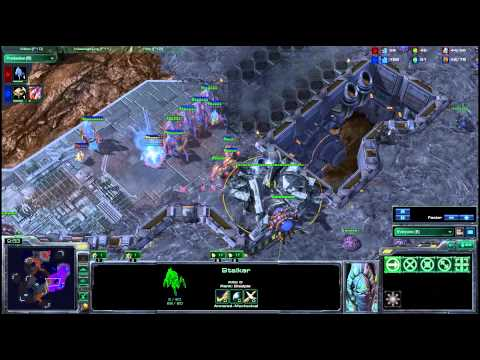 HD Starcraft 2 Spanishiwa v AllDay