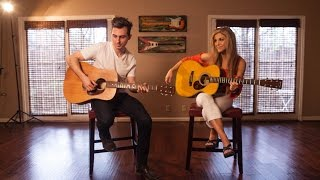 getlinkyoutube.com-SUGAR - MAROON 5 (Acoustic Version) Landon Austin and Lindsay Ell!