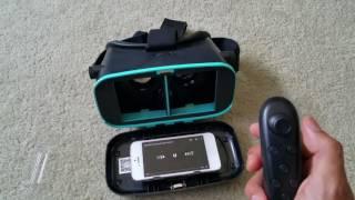 getlinkyoutube.com-Latest New Utopia VR 360 3D VR Headset + Apple IOS Bluetooth Controller Setup 2016