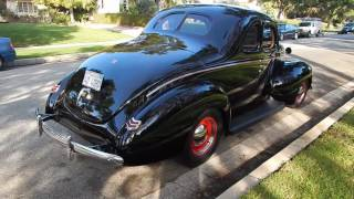 1940 Ford Deluxe Coupe All Steel Resto Rod Stunning