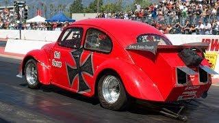 getlinkyoutube.com-VW drag racing, Outlaw Turbo class, BUG-IN 35, 2010