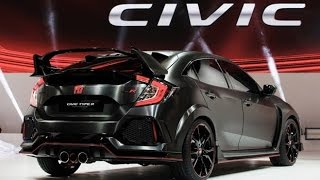 getlinkyoutube.com-2017 Honda Civic Hatchback and Type R Presentation at Paris Motor Show 2016