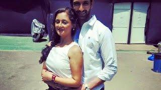 "getlinkyoutube.com-Tapasya ""Tapu"" (Rashmi Desai) with her real life husband Nandish!! Uttaran"