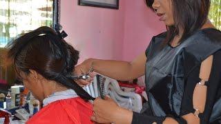 getlinkyoutube.com-Woman forced haircut