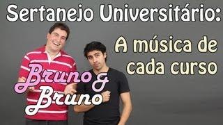 getlinkyoutube.com-Bruno & Bruno: Sertanejo Universitário - a música de cada curso