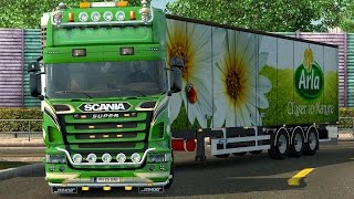 getlinkyoutube.com-Euro Truck Simulator 2 - Scania R2008 Topline By 50k