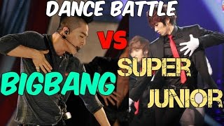 getlinkyoutube.com-Super Junior vs BIGBANG Dance Battle!!! 2016 Batalla de Baile!! 2016