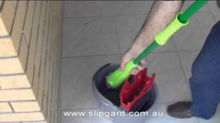 getlinkyoutube.com-DIY -  Non slip or anti slip  tile treatment for all tile surfaces by Slipgard Pty Ltd.