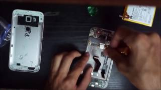 getlinkyoutube.com-Huawei Ascend G8 Disassembly, LCD replace and assembly