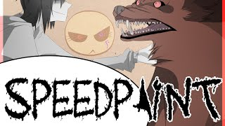 getlinkyoutube.com-Speedpaint- Creepypasta- Wanna Be Friends?