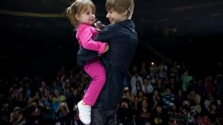getlinkyoutube.com-Justin Bieber and his little sister Jazmyn (Jazzy) | Best, Funny & Cute Moments 2009 – 2014
