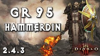 getlinkyoutube.com-GR95 Crusader ~ Hammerdin 2.4.3 ~ Diablo 3 [PTR]
