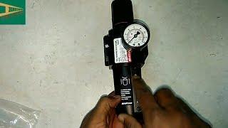 Air Filter Regulator AFR working in hindi   Instrument Guru