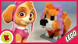 getlinkyoutube.com-😍 Лего. Щенячий Патруль. Скай из LEGO. Paw Patrol. Skye.