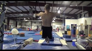 CTI (CLOSE TO IMPOSSIBLE) WORK IN THE IRON CROSS AND GYMNASTICS STRENGTH TRAINER