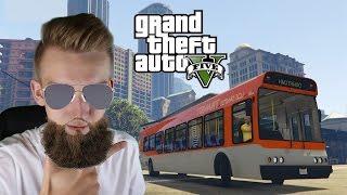 GTA V PRAWDZIWE ŻYCIE #33 - Autobusem przez miasto!