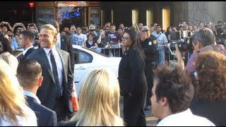 getlinkyoutube.com-Charlie Hunnam at the Sons of Anarchy Season 6 Premiere