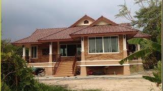 getlinkyoutube.com-บ้านชั้นเดียวยกพื้นก่อสร้างนครนายก