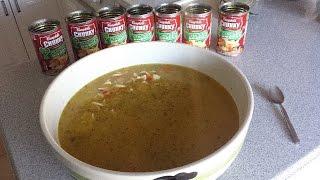 getlinkyoutube.com-Massive Bowl of Chicken Noodle Soup (1.125 Gallons)