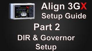 getlinkyoutube.com-3GX Setup Guide Part 2 DIR & Governor Setup