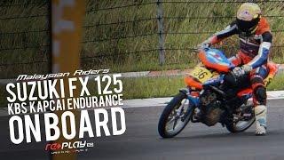 getlinkyoutube.com-Suzuki FX 125 Endurance Kapcai: On Board