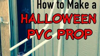 getlinkyoutube.com-How to Make a PVC Halloween Prop   Haunters Workshop