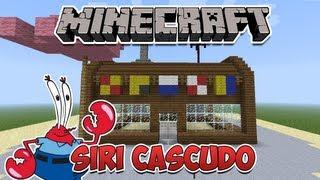 Minecraft: Como construir o Siri Cascudo (Bob Esponja)