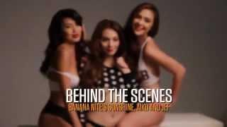 getlinkyoutube.com-The Girls of Banana Nite - FHM Cover Girls January 2014