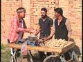 Lakhwinder Sandhu punjabi skit miis Poja-punajbi comedy