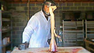 Crazy Foam Experiment with Potassium Permanganate