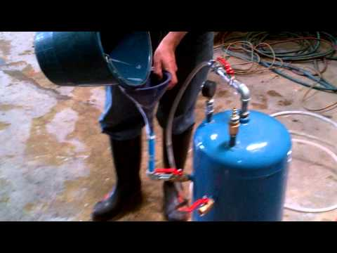 Como llenar e instalar maquina de espuma